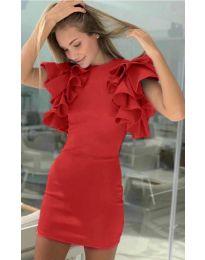Φόρεμα - κώδ. 939 - κόκκινο