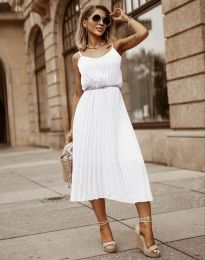 Φόρεμα - κώδ. 1249 - λευκό