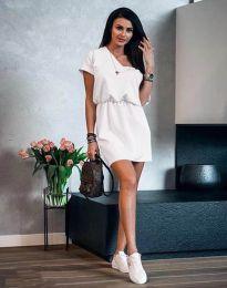 Φόρεμα - κώδ. 3214 - λευκό