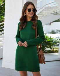 Φόρεμα - κώδ. 3843 - πράσινος