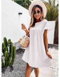 Φόρεμα - κώδ. 744 - λευκό