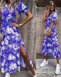 Φόρεμα - κώδ. 6212 - μπλε