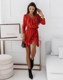 Φόρεμα - κώδ. 0578 - 2 - κόκκινο