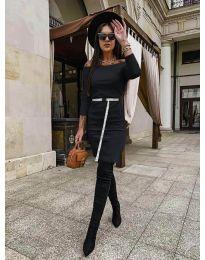 Φόρεμα - κώδ. 5190 - μαύρο