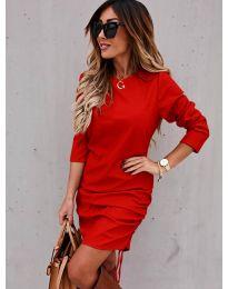 Φόρεμα - κώδ. 8293 - κόκκινο