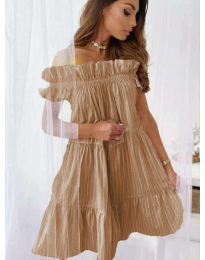 Φόρεμα - κώδ. 0299 - καφέ