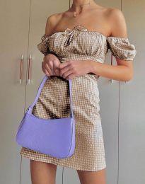Φόρεμα - κώδ. 2594 - 4 - μπεζ