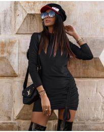 Φόρεμα - κώδ. 9545 - μαύρο
