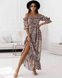 Φόρεμα - κώδ. 6319 - 6 - πολύχρωμο