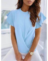 Κοντομάνικο μπλουζάκι - κώδ. 515 - γαλάζιο