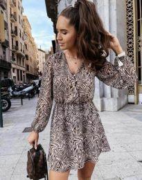 Φόρεμα - κώδ. 4589 - 2 - πολύχρωμο