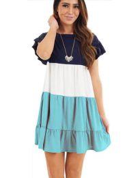 Φόρεμα - κώδ. 741 - τυρκουάζ