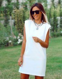 Φόρεμα - κώδ. 5786 - 1 - λευκό