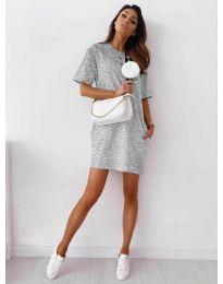 Φόρεμα - κώδ. 7236 - γκρι
