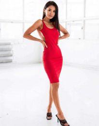 Φόρεμα - κώδ. 11926 - κόκκινο