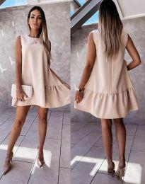 Φόρεμα - κώδ. 3456 - μπεζ