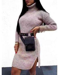 Φόρεμα - κώδ. 6867 - γκρι