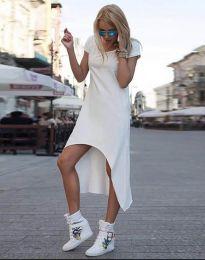 Φόρεμα - κώδ. 5507 - λευκό