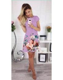 Φόρεμα - κώδ. 026 - μωβ