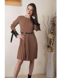 Φόρεμα - κώδ. 489 - καφέ