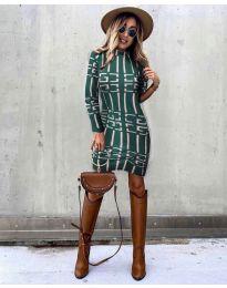 Φόρεμα - κώδ. 0258 - χακί