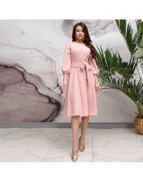 Φόρεμα - κώδ. 4571 - ροζ