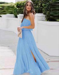 Φόρεμα - κώδ. 8871 - γαλάζιο
