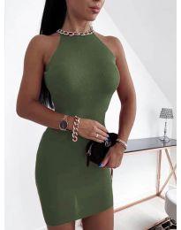 Φόρεμα - κώδ. 9690 - χακί