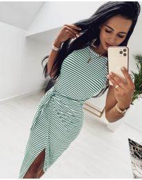 Φόρεμα - κώδ. 2366 - πράσινο