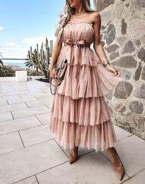Φόρεμα - κώδ. 1546 - μπεζ