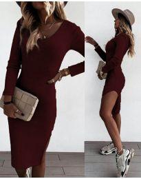 Φόρεμα - κώδ. 884 - μπορντό