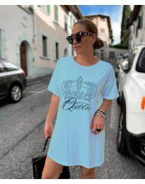 Φόρεμα - κώδ. 2525 - γαλάζιο