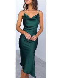 Φόρεμα - κώδ. 7161 - πράσινο