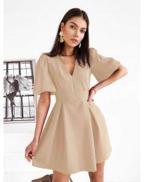 Φόρεμα - κώδ. 0807 - μπεζ