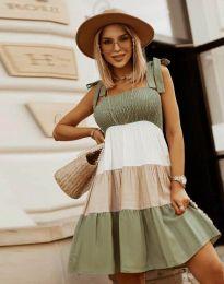 Φόρεμα - κώδ. 11922 - λαδί