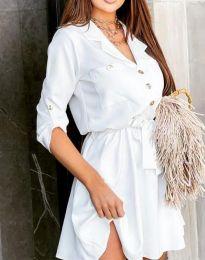 Φόρεμα - κώδ. 4950 - λευκό