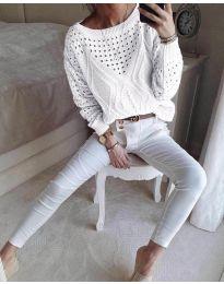 Μπλούζα - κώδ. 6182 - λευκό