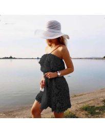 Φόρεμα - κώδ. 4849 - μαύρο