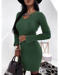 Φόρεμα - κώδ. 5666 - χακί