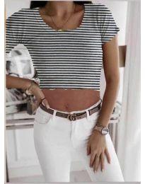 Κοντομάνικο μπλουζάκι - κώδ. 530 - λευκό