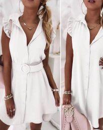 Φόρεμα - κώδ. 7411 - λευκό