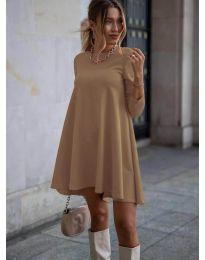 Φόρεμα - κώδ. 371 - καπουτσίνο