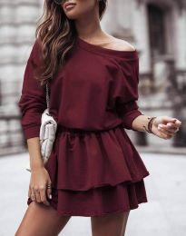 Φόρεμα - κώδ. 0525 - μπορντό