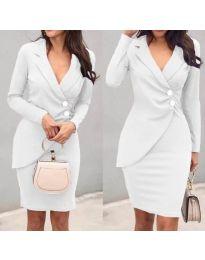 Φόρεμα - κώδ. 540 - λευκό