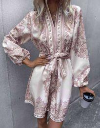 Φόρεμα - κώδ. 4753 - πολύχρωμο