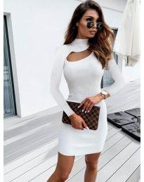 Φόρεμα - κώδ. 883 - λευκό
