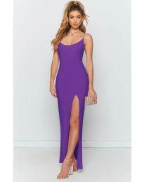 Φόρεμα - κώδ. 715 - μωβ