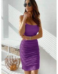 Φόρεμα - κώδ. 603 - μωβ