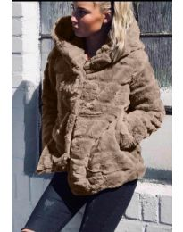 Παλτό - κώδ. 9202 - καπουτσίνο
