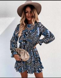 Φόρεμα - κώδ. 248 - 5 - πολύχρωμο